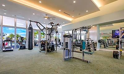 Fitness Weight Room, 8090 Hobbes Way, 2