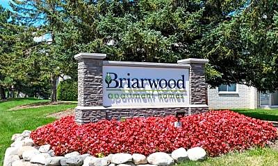 Community Signage, Briarwood Apartments, 0