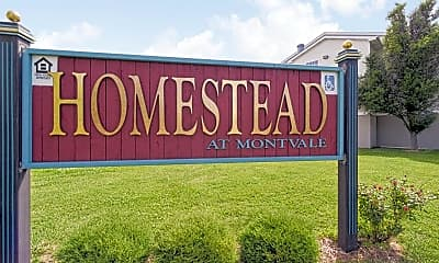 Community Signage, Homestead at Montvale, 2