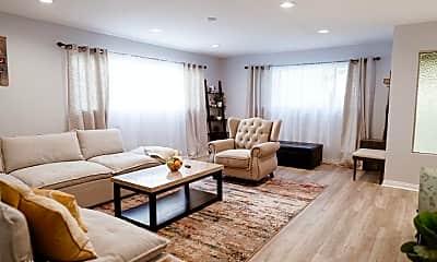 Living Room, 11153 1/2 Morrison St, 1