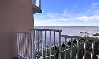 Patio / Deck, 8501 Bayside Rd 502, 2