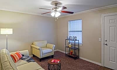 Living Room, Copper Ridge Apartments, 1