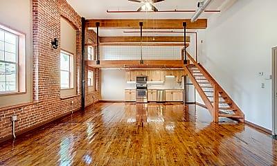 Living Room, Auburn Station Apartments, 0