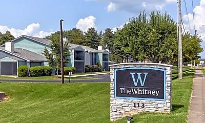Community Signage, The Whitney, 2