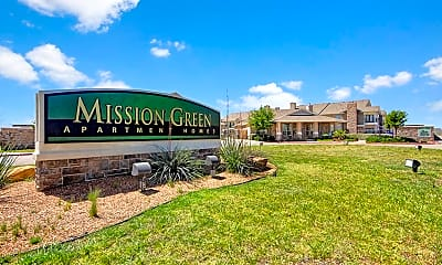 Community Signage, Mission Green, 2