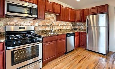 Kitchen, Franklin Manor Apartments, 1