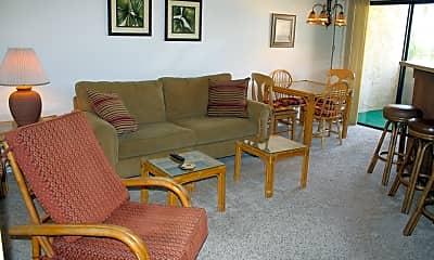 Living Room, 5300 E Waverly Dr M4208, 0