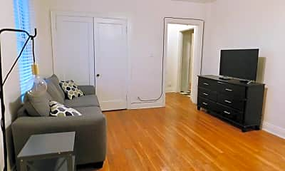 Living Room, 2108 Hayes St, 1
