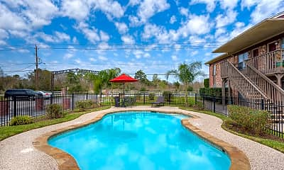 Pool, Tomball Ranch Apartments, 1