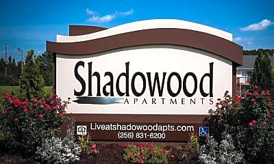 Community Signage, Shadowood Apartments, 0