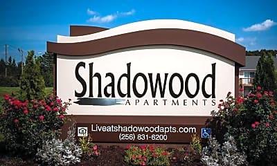 Community Signage, Shadowood Apartments, 0