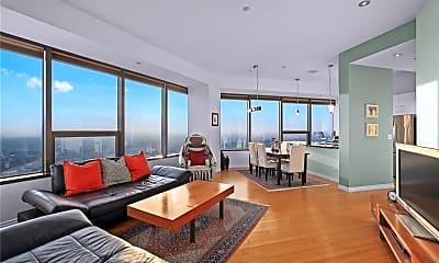 Living Room, 1100 Wilshire Blvd, 1