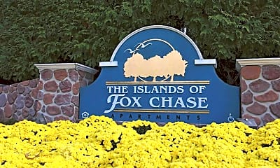 Community Signage, The Islands Of Fox Chase, 1