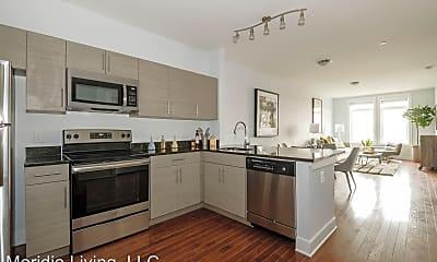Kitchen, Meridia On Main, 1