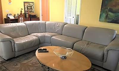 Living Room, 5409 Palm Aire Dr, 2