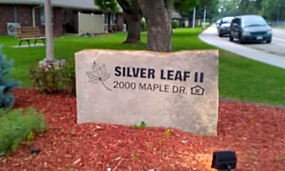 Silver Leaf I & II, 1