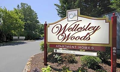 Community Signage, Wellesley Woods, 2