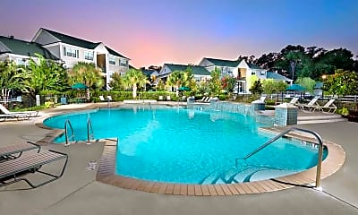 Pool, Olde Oak Apartment Homes, 1