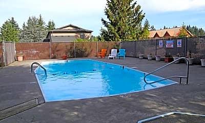 Pool, Carpenter Crest Apartments, 0