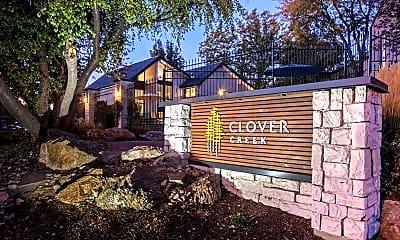 Community Signage, Clover Creek Apartments, 2