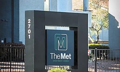 Community Signage, The Met Las Vegas, 2