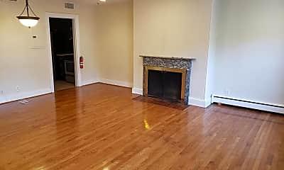 Living Room, 1212 Spruce St 3F, 1