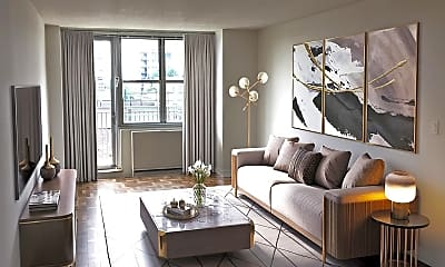 Living Room, 1670 York Avenue, 0