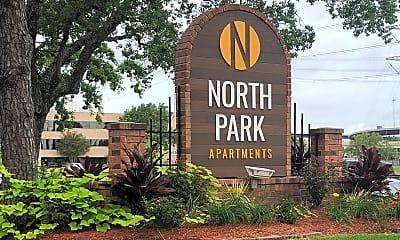 Community Signage, North Park, 2