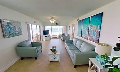 Living Room, 10102 S Ocean Dr 401A, 1