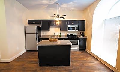 Kitchen, The Cecil, 1