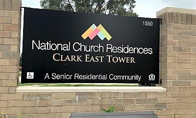 Clark East Tower, 1
