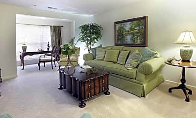 Living Room, Salisbury Village at Castlewood, 1