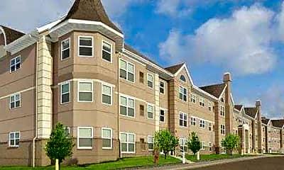 Building, Crown Villa Apartments, 2
