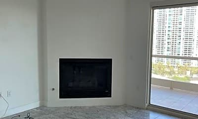 Living Room, 2777 Paradise Rd 1402, 2