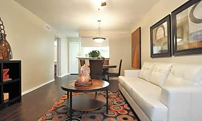 Living Room, Pebble Brook, 1