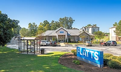 FLATTS AT SOUTH CAMPUS-PER BED LEASE, 1
