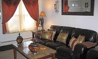 Living Room, Westar Apartments, 1