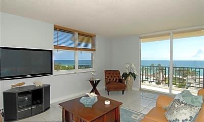Living Room, 1501 S Ocean Dr 803, 0
