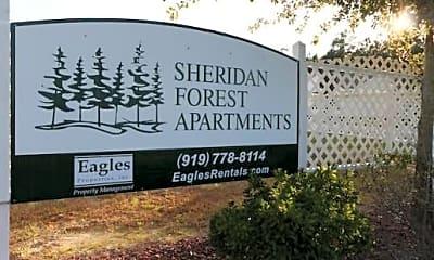 Community Signage, 271 Sheridan Forest Rd, 0