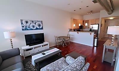 Living Room, 1555 Central Street, 1