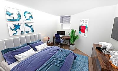Bedroom, 42 Brainerd Road, Unit B, 0