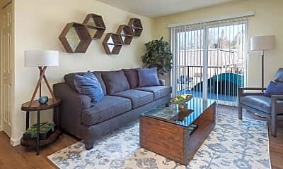 Living Room, Westport Edge Apartments, 1