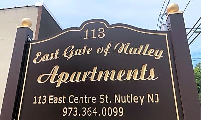 East Gate of Nutley Apartments, 1