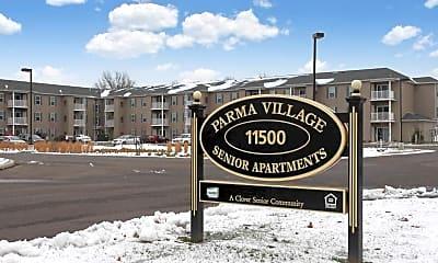 Community Signage, Parma Village Senior Apartments, 2