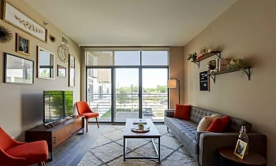 Living Room, 600 Goodale, 1