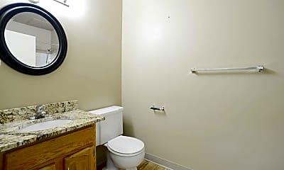 Bathroom, Bowen Tower Senior Apartments, 2