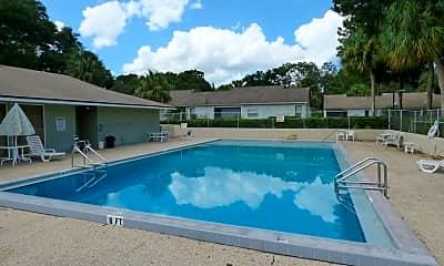 Pool, 1428 Oak Pl - #C, 2