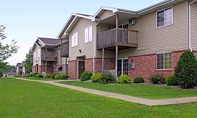 Building, Grand Avenue Apartments, 2