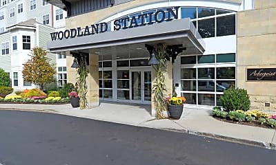Leasing Office, Woodland Station Apartments, 2