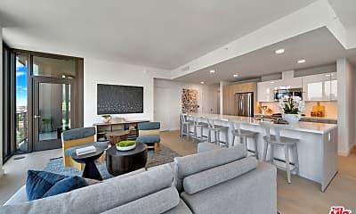 Living Room, 2801 Sunset Pl PH03, 2